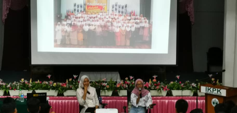 TKC top students conducted motivational session with MCKK